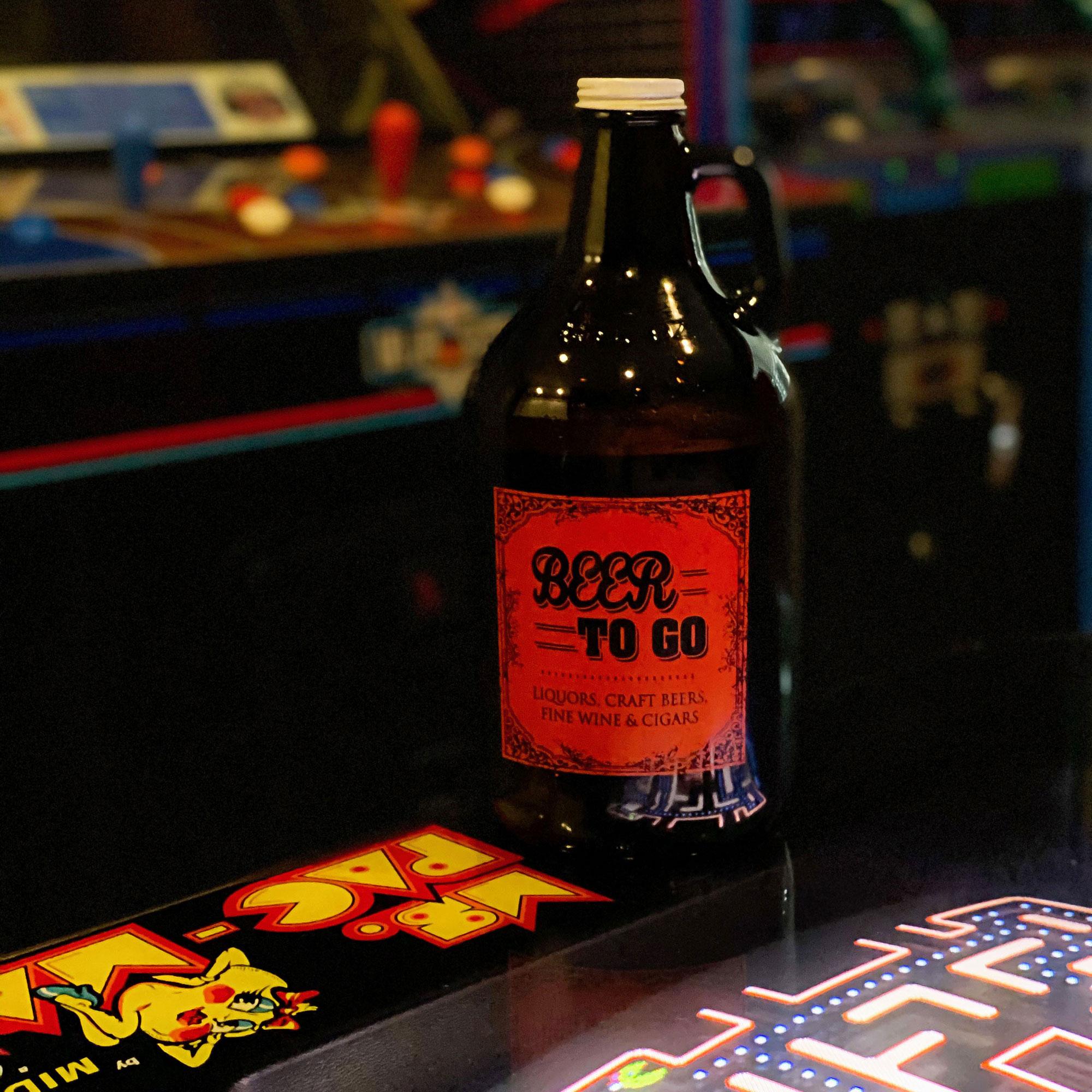 Level 1 Arcade Bar Growler Fill