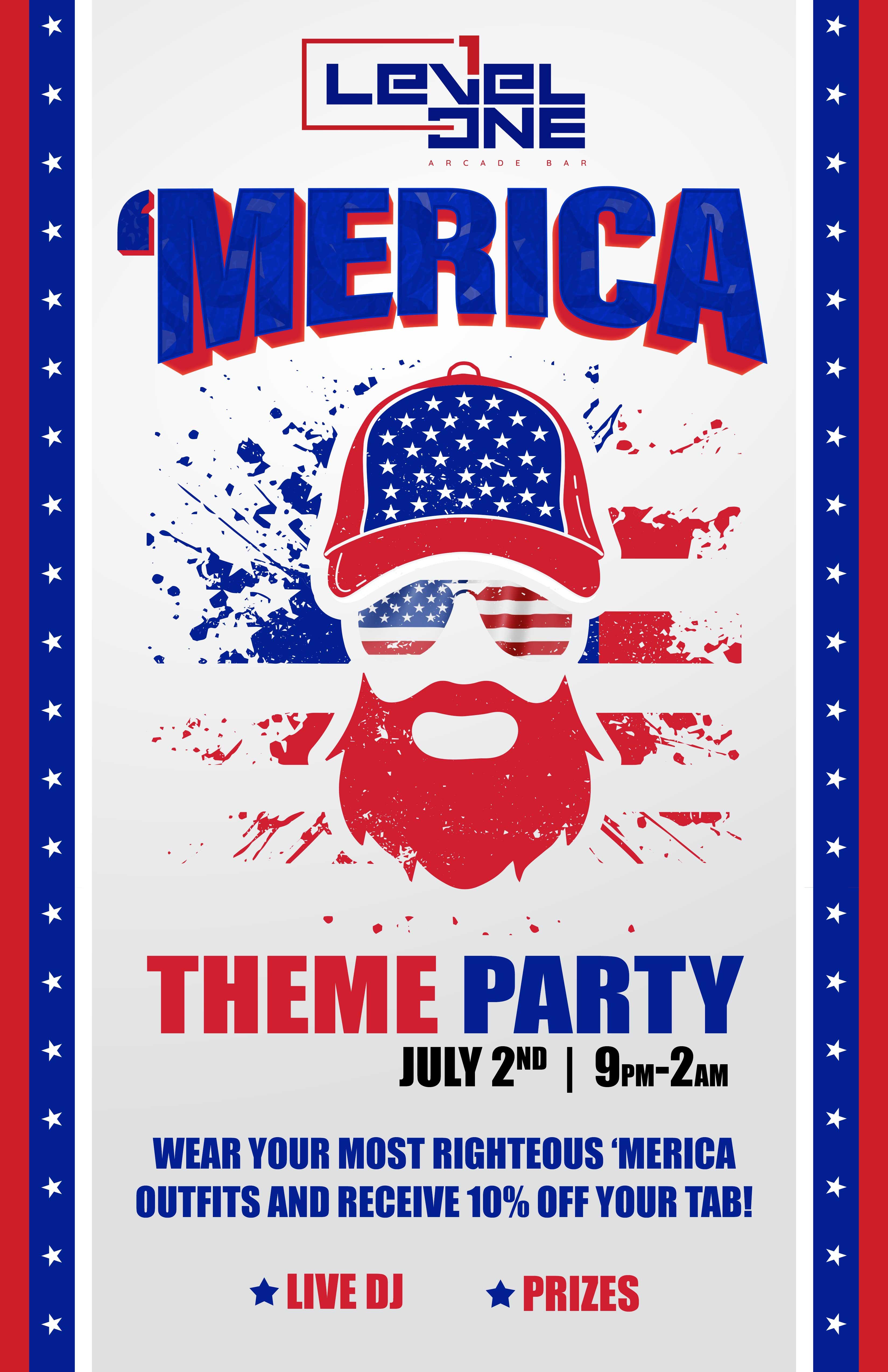 'Merica Theme Party
