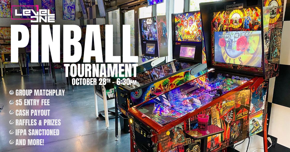 Level 1 Pinball Tournament